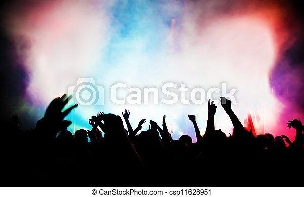 מפלגה., הופעה, מוסיקה של דיסקוטק, אנשים - csp11628951