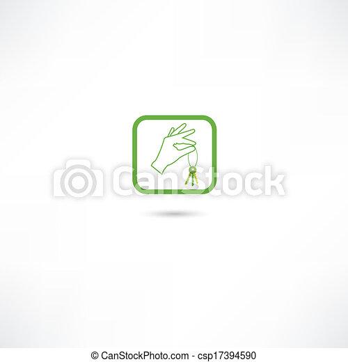 מפתח של בית, איקונים - csp17394590