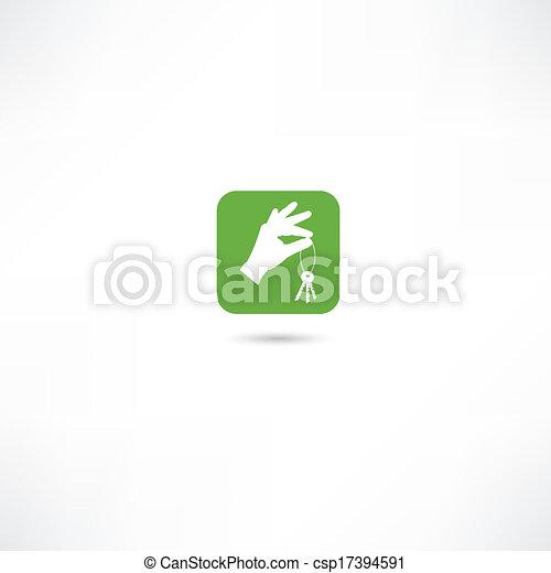 מפתח של בית, איקונים - csp17394591