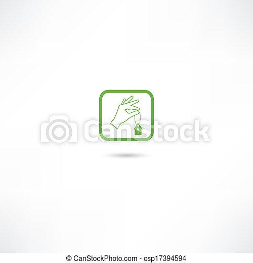 מפתח של בית, איקונים - csp17394594