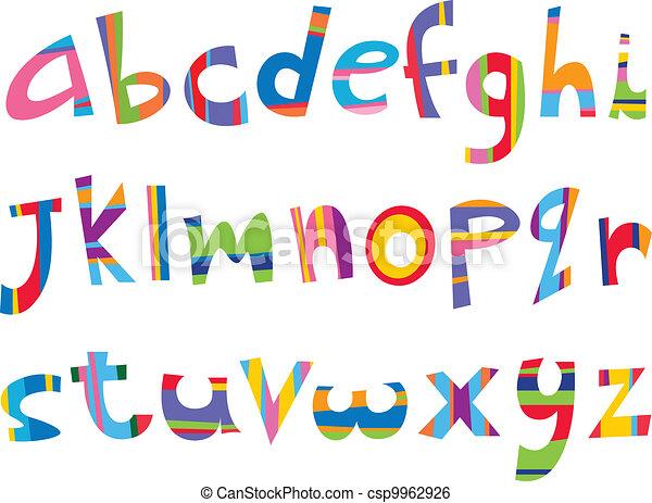 מקרה, כיף, יותר נמוך, אלפבית - csp9962926