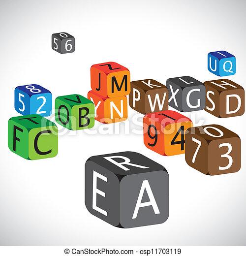מקרה, ספרות, השתמש, שפה, צבעוני, קוביות, אנגלית, דוגמה, numbers., עשה, אותיות, בירה, אלפביתים, למד, ילדים - csp11703119