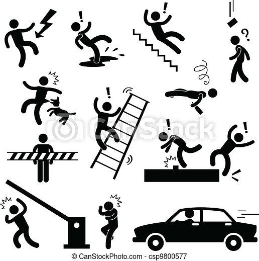 סכנה, הזהר, תאונה, בטיחות, חתום - csp9800577