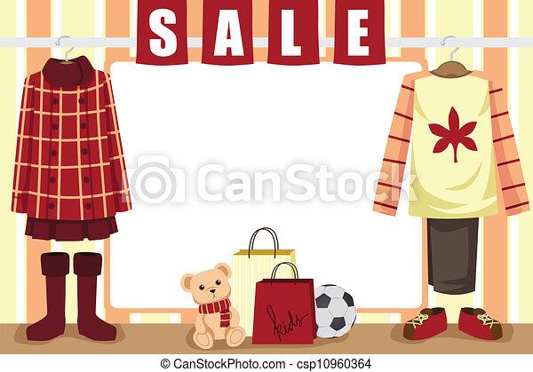 סתו, קניות, רקע - csp10960364