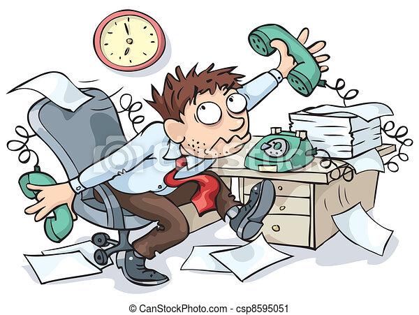 עובד, משרד - csp8595051