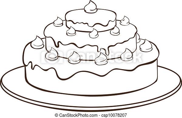 עוגה, תאר - csp10078207