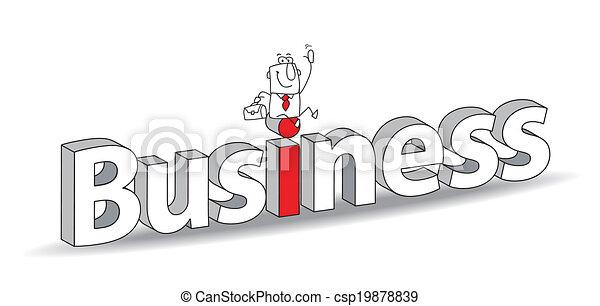 עסק - csp19878839