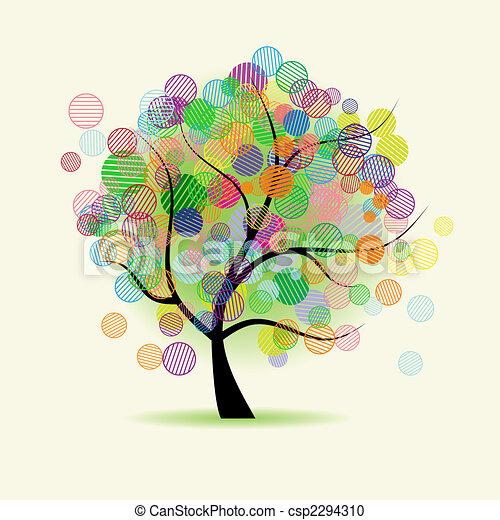 פנטזיה, אומנות, עץ - csp2294310