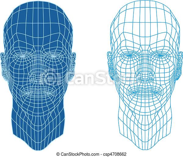 פנים, וויראפראם - csp4708662