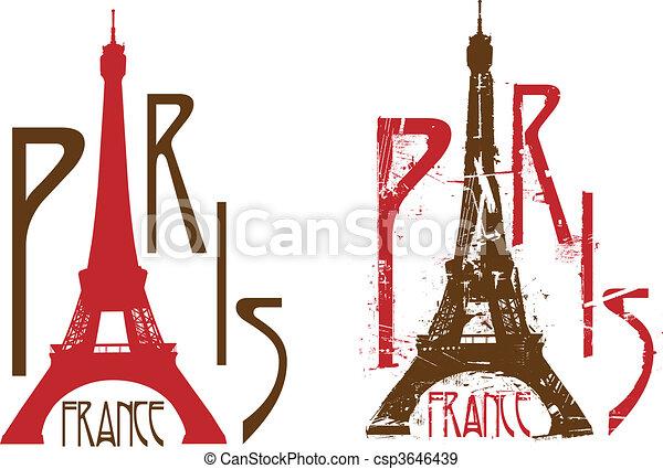 פריז - csp3646439
