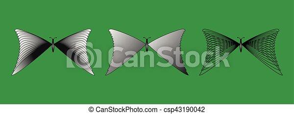 פרפרים, צלליות, קבע - csp43190042