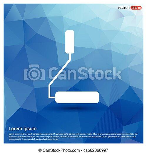צבע מוט גלילי, איקון - csp62068997