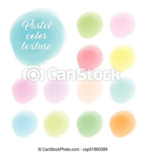 צבע, פסטל, טקסטורה - csp51860389