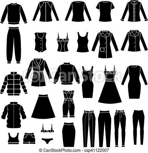 קבע, בגדים, נשים - csp41122007