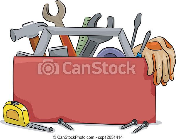 קופסה, עבד, עלה, טופס - csp12051414