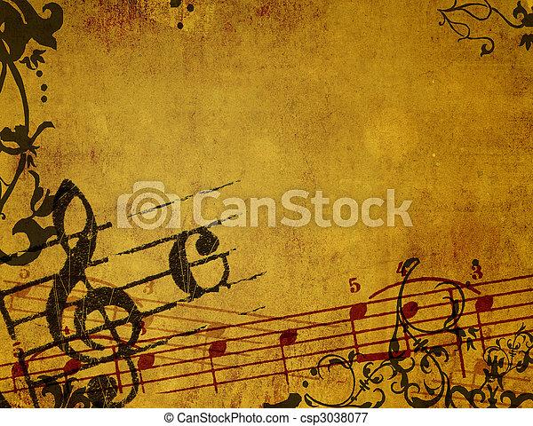 רקעים, גראנג, תקציר, טקסטורות, מנגינה - csp3038077