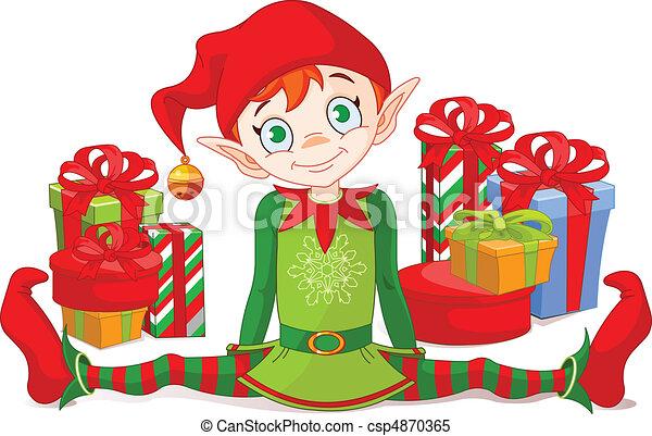 שדון, מתנות של חג ההמולד - csp4870365