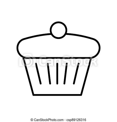 תאר, הפרד, לבן, לצבוע, רקע., עוגה, page. - csp89126316