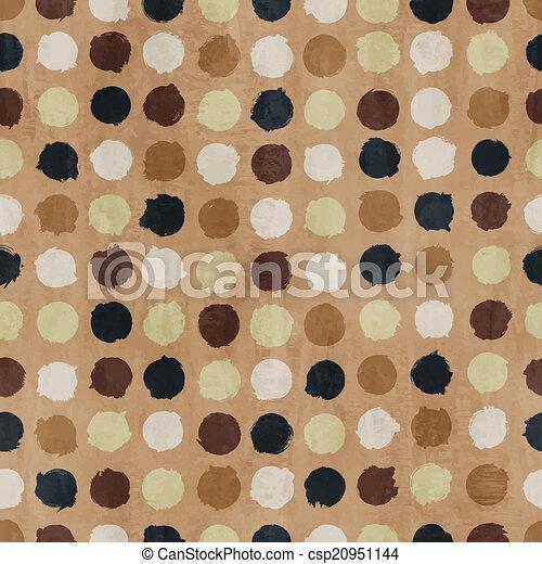 תבנית, גיזעי, וקטור, ראטרו, seamless - csp20951144