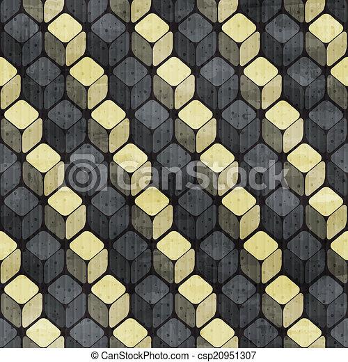 תבנית, וקטור, ראטרו, seamless - csp20951307
