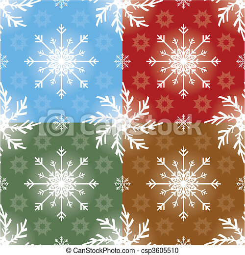 תבנית, חג המולד, seamless - csp3605510