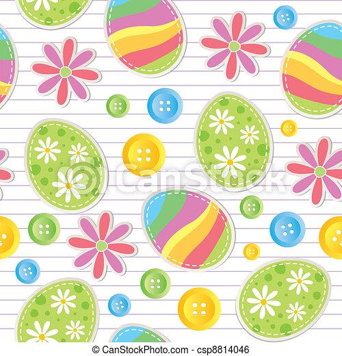 תבנית, חג הפסחה, seamless - csp8814046