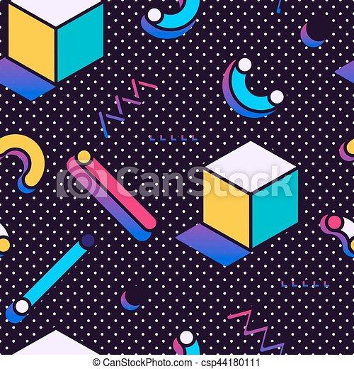 תבנית, סיגנון, ממפיס, seamless - csp44180111