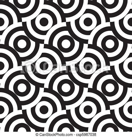 תבנית, seamless, (vector) - csp5987038