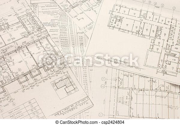 תוכניות, אדריכלי - csp2424804