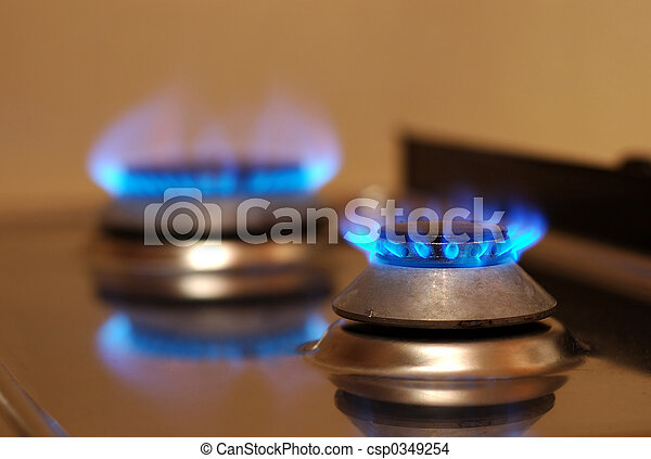 תנור, גז - csp0349254