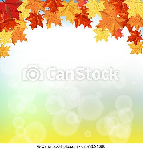 (autumn), רקע, נפול - csp72691698