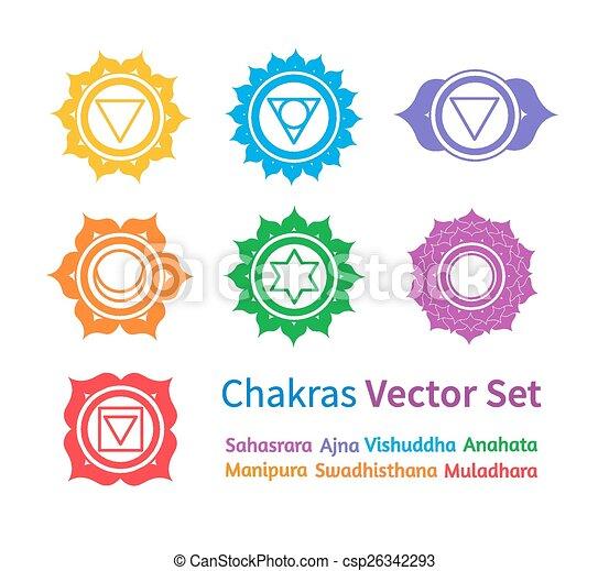 chakras. - csp26342293