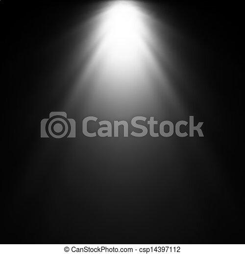 projector., אור, וקטור, דוגמה, קרן - csp14397112
